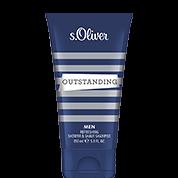s.Oliver Outstanding Men Refreshing Shower + Shave Shampoo