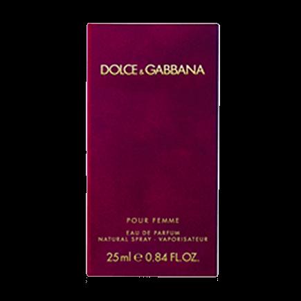 Dolce & Gabbana Pour Femme Eau de Parfum Natural Spray
