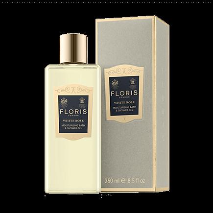 Floris White Rose Moisturising Bath & Shower Gel