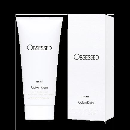 Calvin Klein Obsessed For Men Hair + Body Wash
