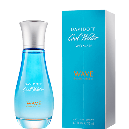 Davidoff Cool Water Woman Wave Eau de Toilette Spray