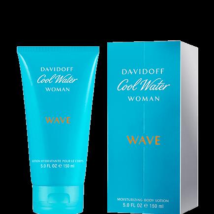 Davidoff Cool Water Moisturizing Body Lotion Woman Wave
