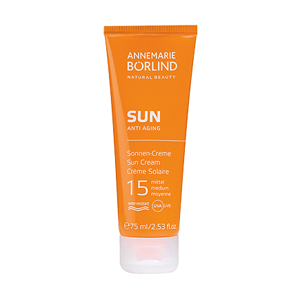 ANNEMARIE BÖRLIND SUN Sonnen-Creme LSF 15