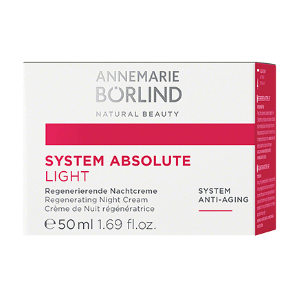 ANNEMARIE BÖRLIND SYSTEM ABSOLUTE Regenerierende Nachtcreme light