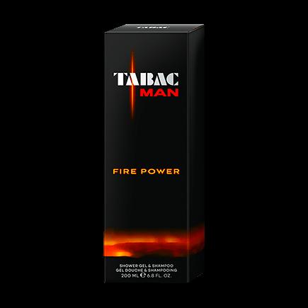 Tabac Man Fire Power Shower Gel