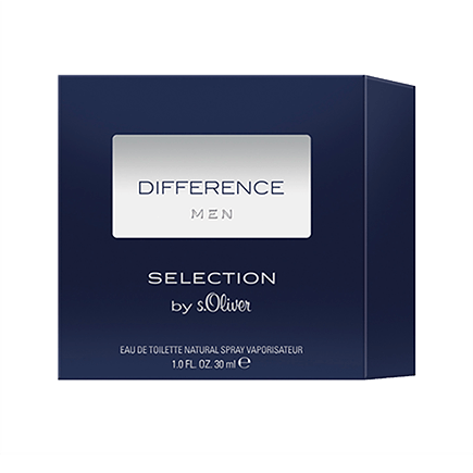 s.Oliver Difference Men Eau de Toilette Spray