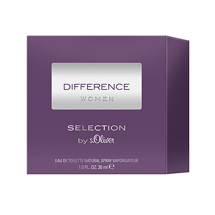 s.Oliver Difference Women Eau de Toilette Spray