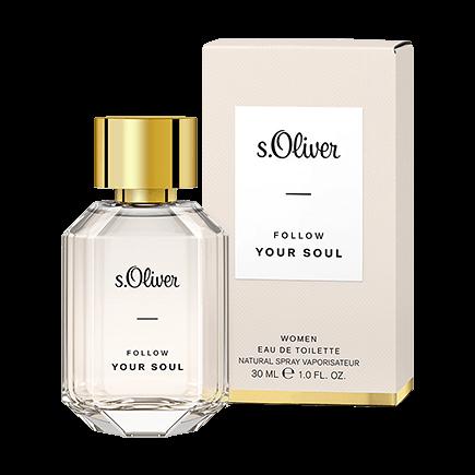 s.Oliver Follow Your Soul Women Eau de Toilette Spray