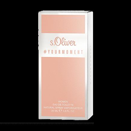 s.Oliver #Your Moment Women Eau de Toilette Spray