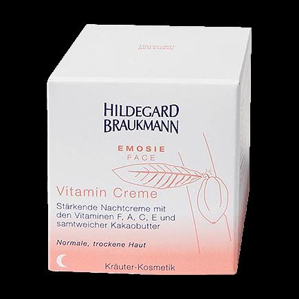 Hildegard Braukmann Emosie Face Gesichts Vitamin Creme