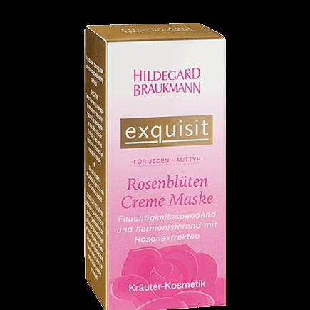 Hildegard Braukmann exquisit Rosenblüten Creme Maske