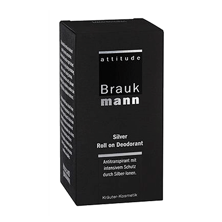 Hildegard Braukmann Attitude Silver Roll on Deodorant