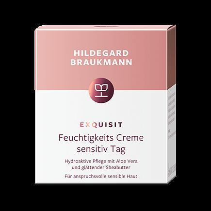 Hildegard Braukmann Exquisit Feuchtigkeits Creme sensitiv Tag
