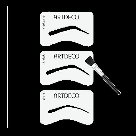 ARTDECO Eye Brow stencils