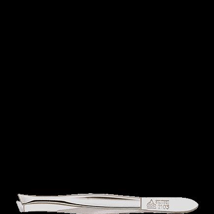 Erbe Solingen Classic Line Pinzette Modell Hohlkehle, vernickelt, schräg