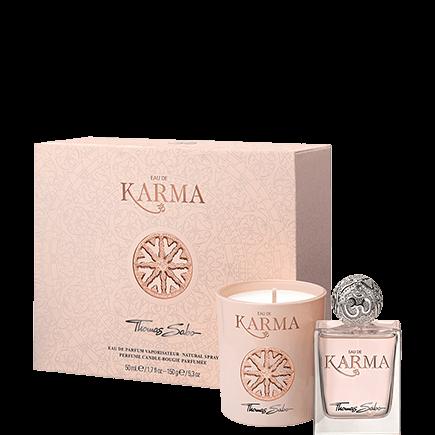 Thomas Sabo Eau de Karma Geschenk-Set Eau de Parfum Spray + Perfume Candle