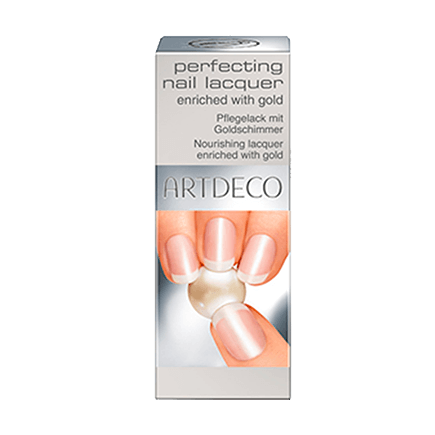 ARTDECO Perfecting Nail Lacquer enriched with gold perfecting nail lacquer enriched with gold