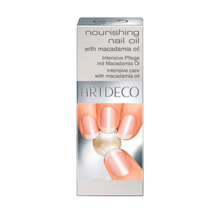 ARTDECO Nourishing Nail Oil with macadamia oil nourishing nail oil enriched with gold