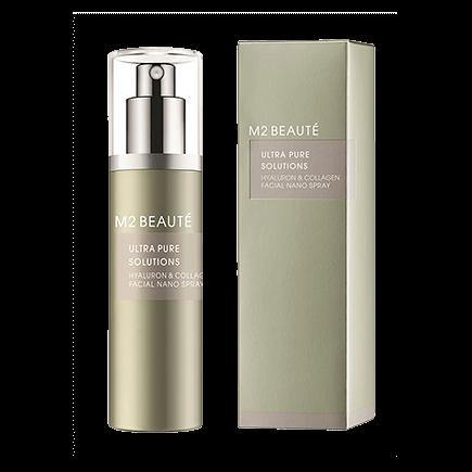 M2 Beauté Ultra Pure Solutions Hyaluron & Collagen Facial Nano Spray