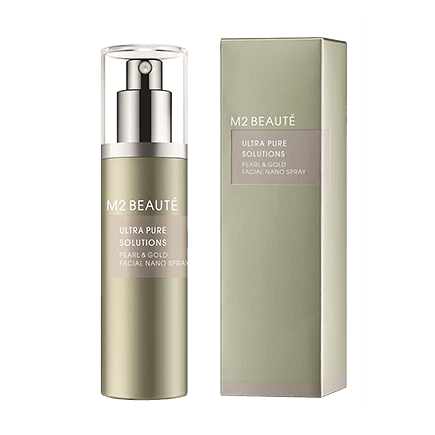 M2 Beauté Ultra Pure Solutions Pearl & Gold Facial Nano Spray