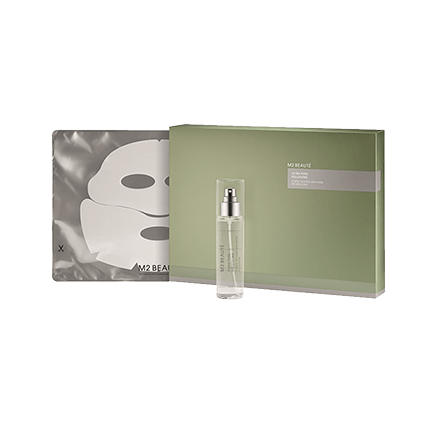 M2 Beauté Ultra Pure Solutions HYBRID SECOND SKIN MASK BROWN ALGA
