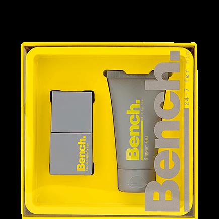 Bench. 24/7 Men Set Eau de Toilette Spray + Shower Gel