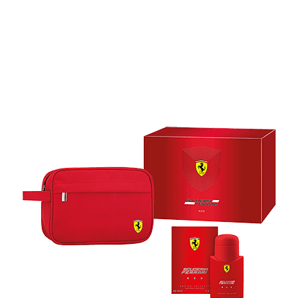 Ferrari Red Eau de Toilette Spray + Kulturbeutel