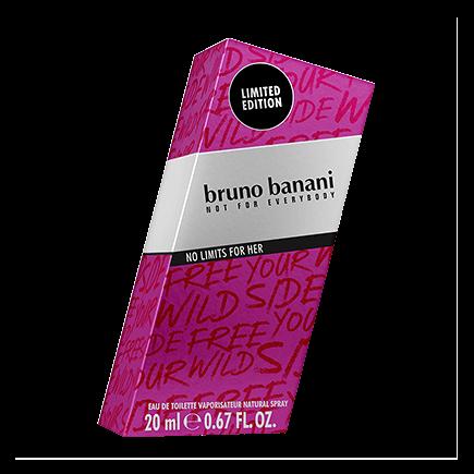 Bruno Banani No Limits Woman Eau de Toilette Spray