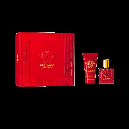 Versace Eros Flame pour Homme Spring Set Eau de Parfum Spray + Duschgel