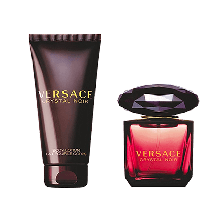 Versace Crystal Noir Set Eau de Toilette + Body Lotion