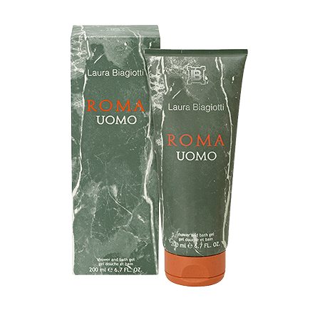Laura Biagiotti Roma Uomo Shower Gel
