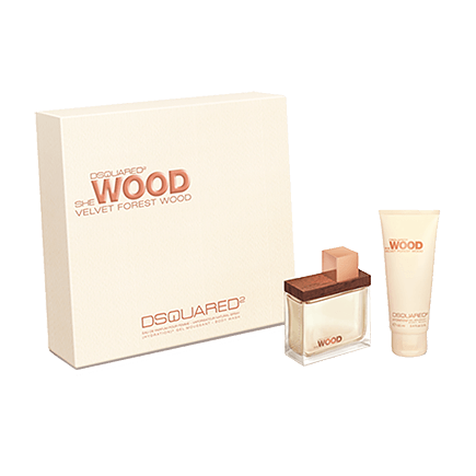 Dsquared² Velvet Forest Wood Set mit Body Lotion