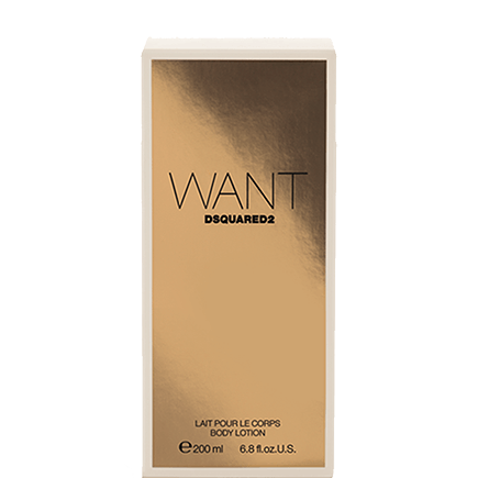 Dsquared² Want Body Lotion