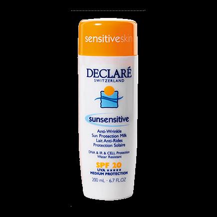 Declare sunsensitive Anti-Wrinkle Sun Protection Milk  SPF 2