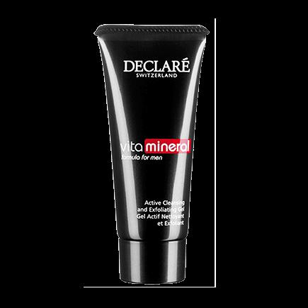 Declare vitamineral  formula for menDeclare men Active Cleansing and Exfoliating Gel
