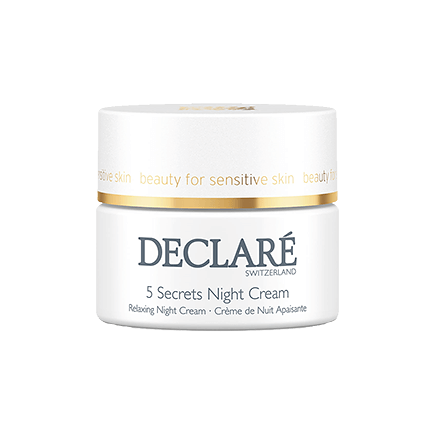 Declare stressbalance 5 Secrets Night Cream