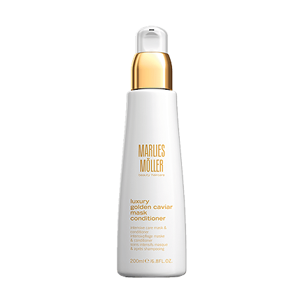 Marlies Möller luxury golden caviar mask conditioner